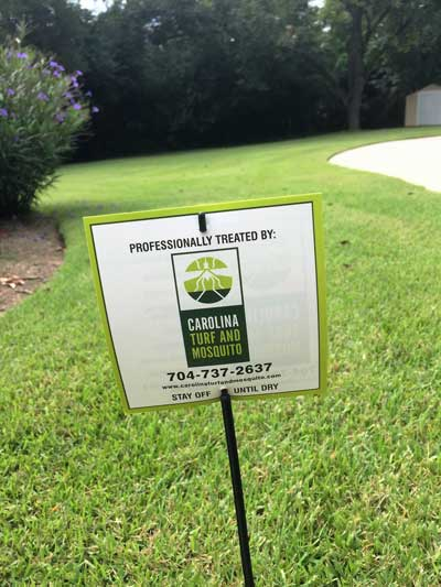 Lawn Weed Control Service in Waxhaw, North Carolina