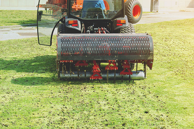How Lawn Aeration Helps Your Grass